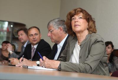 Структура ИрНИТУ 9 июля 2013 г подписали договор о сотрудничестве в области студенческих обменов и научно исследовательских работ между НИ ИрГТУ и Чанвонским национальным